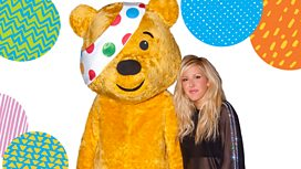 Ellie with Pudsey