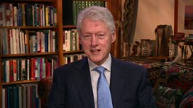 Bill Clinton pays tribute to Nelson Mandela