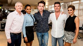 Grimmy meets The X-Factor judges