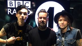 Black Veil Brides speak to Dan P Carter