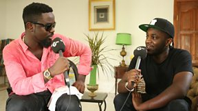 Sarkodie Speaks To Twin B In Accra