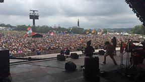 Chronixx Interview and live set from Glastonbury