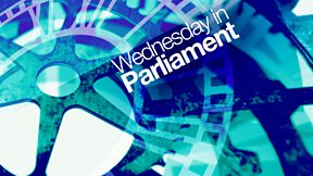 Wednesday in Parliament