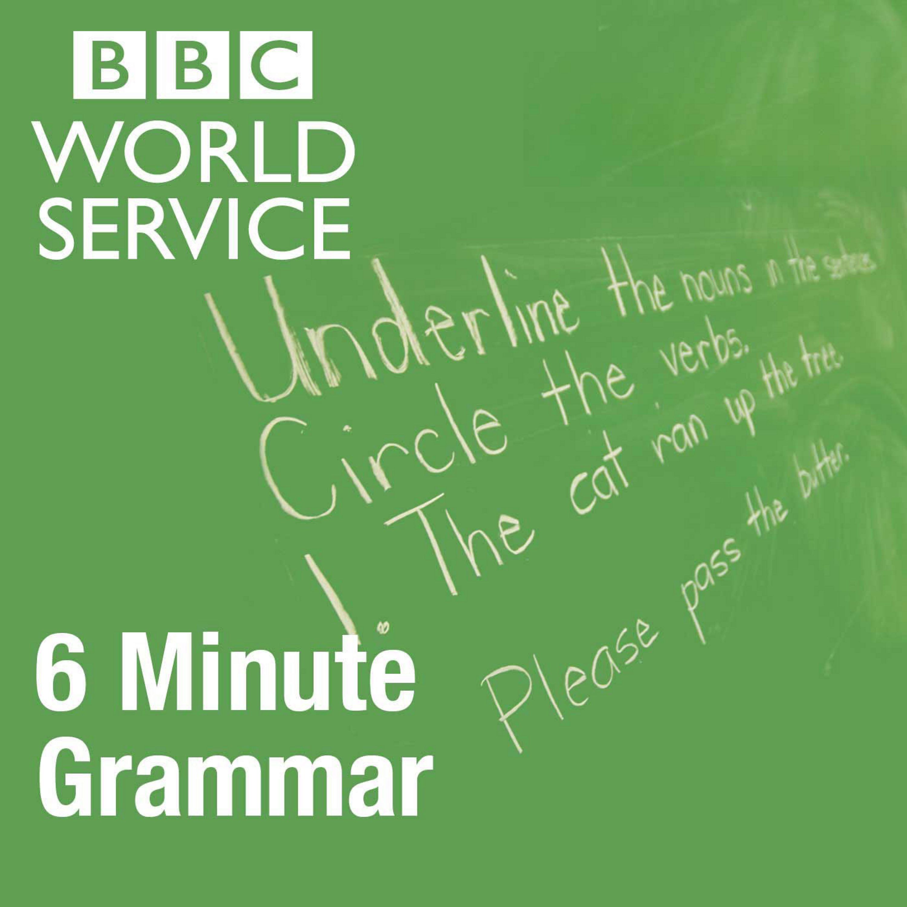 4577bbe4cff8 Every Tuesday join two of our presenters and learn a new key area of  grammar. Our presenters include Finn