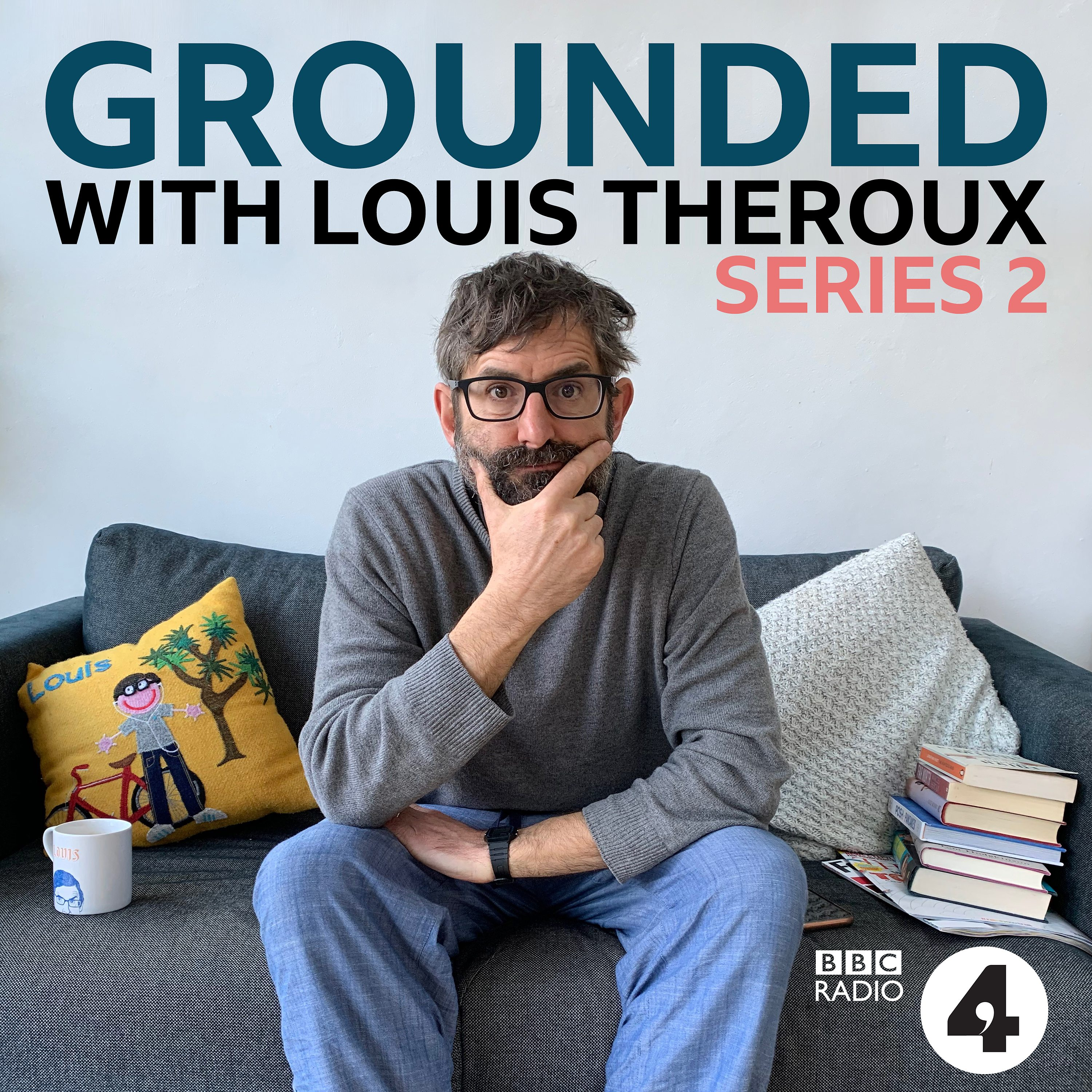 Grounded with Louis Theroux logo