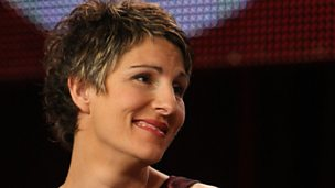"Image for ""Surprisingly sexy"" – Tamsin Greig's kissing"