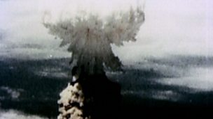 Why did Truman and his advisors have different opinions about the A-bomb?
