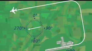 Plotting bearings for an aircraft flight (pt 1/3)
