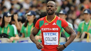 "Image for Kim Collins: ""I didn't come to watch 100m final on TV. I've got to go home. I can't walk around London as a tourist"""