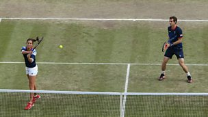 Image for Annabel Croft's unintended double entendre sparks Olympic tennis giggles