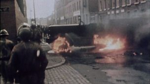 Introduction of internment to Northern Ireland in 1971