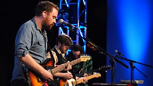 Image for Frightened Rabbit - Vic Galloway session from the Edinburgh Fringe