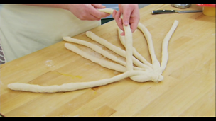 Image for Plaiting an eight strand loaf
