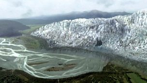 Evidence for global warming - glacial retreat