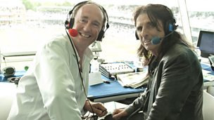 Image for Jonathan Agnew meets Alice Cooper