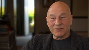 Image for Sir Patrick Stewart sets out to investigate the impact his father has had on his life