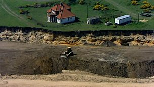 The impact of sea defences along the East Anglian coastline