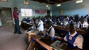 Sex education in an African school