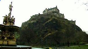 Igneous landscapes - Edinburgh