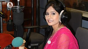 Image for Miss Pooja live in the studio with Noreen Khan