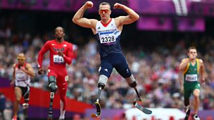 Image for Richard Whitehead wins 200m gold for ParalympicsGB