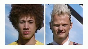 Image for Total Wipeout sees a battle of the hairstyles on the Qualifier