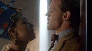 Image for Dinosaurs on a Spaceship: The Doctor and Queen Nefertiti.