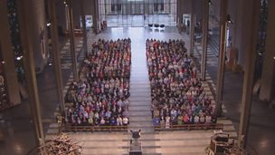 Image for King of the Ages - Congregation and Choir at Coventry Cathedral (Songs of Praise - Grandparents)