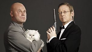 Image for Mark Kermode & Simon Mayo become Bond and Blofeld