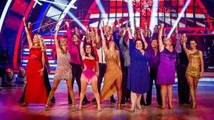 Image for The celebs and pros team up for the Strictly Premiere