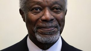 Image for Kofi Annan - the man behind the diplomat