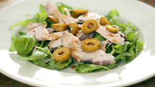 Image for Pork and olive salad