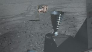 Image for Apollo moon landing thruster