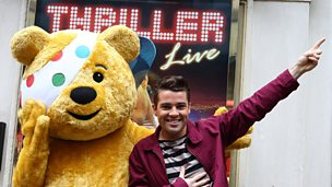 Image for Joe McElderry gets ready for a Thrilling performance
