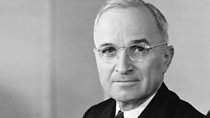 Image for Alistair Cooke reports on the re-election of President Harry Truman - American news commentary - 3 November 1948