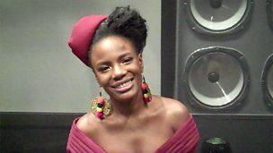 Image for Backstage Buzzcocks: Guest Shingai Shoniwa from Noisettes talks to us after the show
