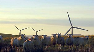 Generating electricity from wind power