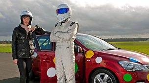 "Image for Appeal Night 2012 sneak peak: BBC Newsreaders tackle the Top Gear ""Star in a Reasonably Priced Car"" challenge!"