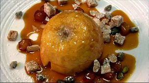 Image for Baked apples with Calvados sauce