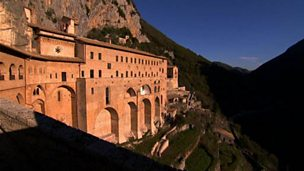 Life in a Benedictine monastery in Italy