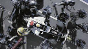 Engineering a Formula 1 racing car