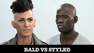 Image for Pressure to be perfect: Bald Vs Styled