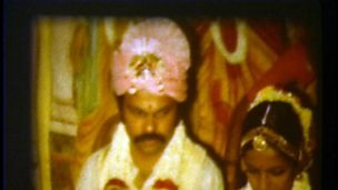 An arranged Hindu marriage