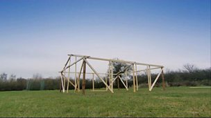 Building a wooden structure