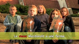 'Old MacDonald had a farm' in French