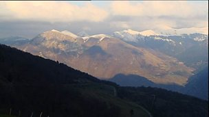 Mountain roads in the Pyrenees