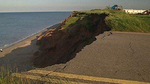 Coastlines - drastic erosion