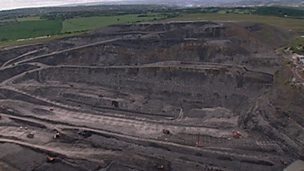 How coal is mined at Orgreave mine
