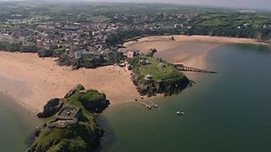 The economy of Tenby - change from fishing to tourism