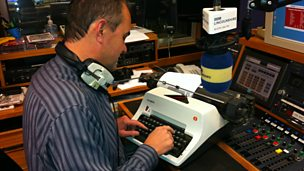 Image for Melvyn re-lives the typewriter